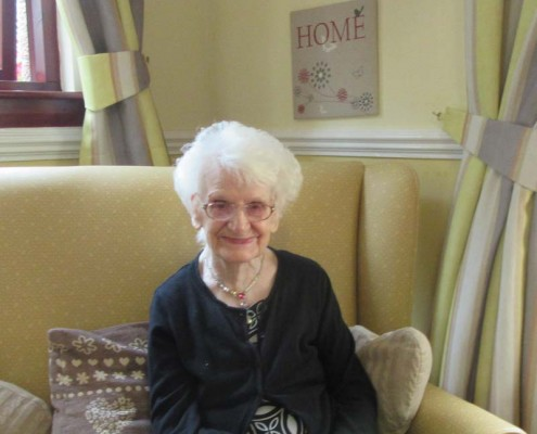 Sally at 99