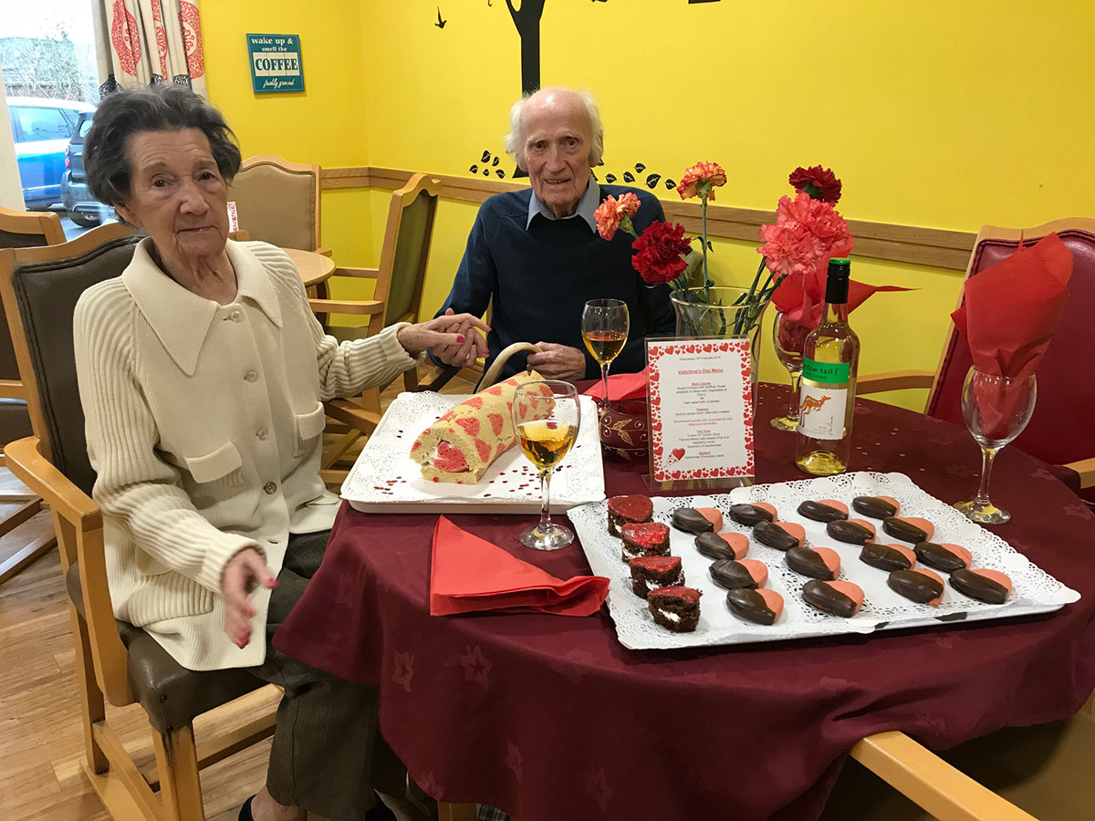 Love is in the air at Haven Lodge care home